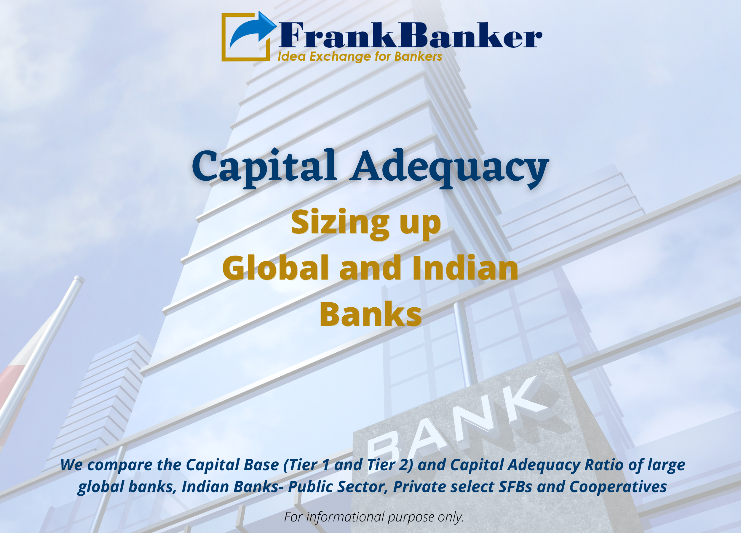 CAPITAL ADEQUACY: Sizing up Indian and Global Banks