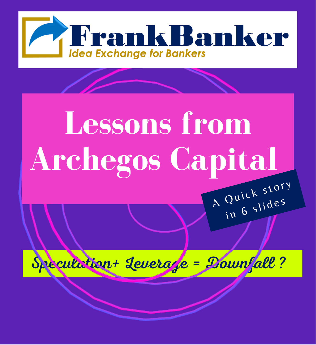 Lessons from Archegos Capital : Quick story
