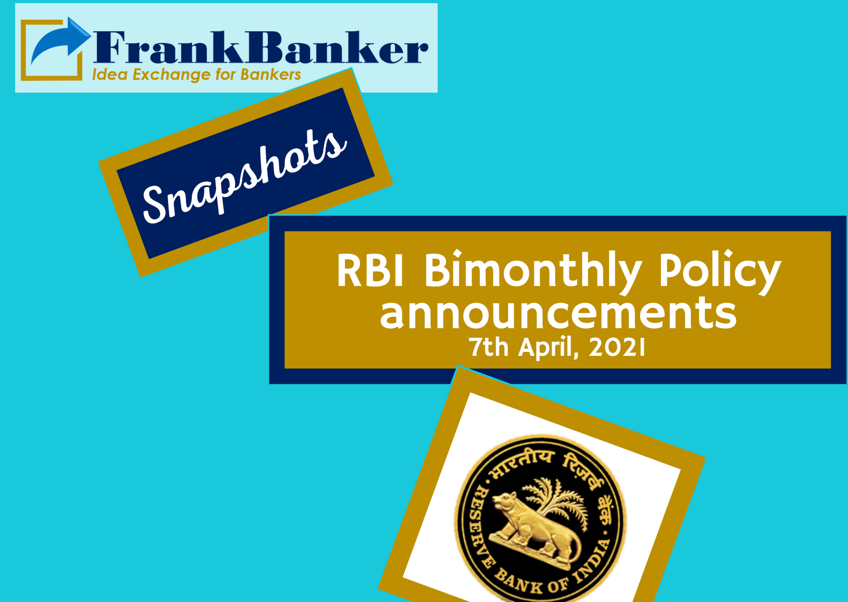 RBI Policy Announcement : 7 April 2021